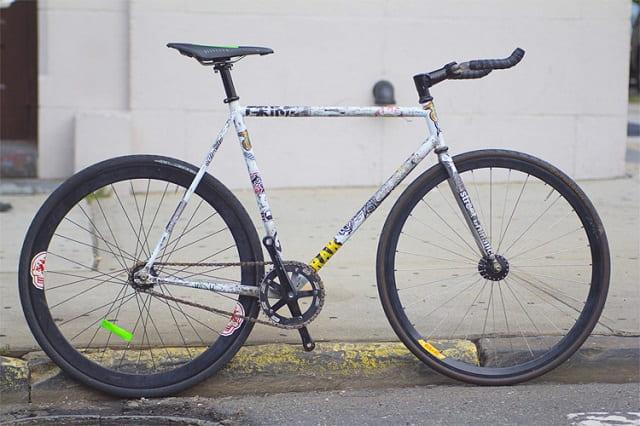 プレミアム・ラッシュ自転車